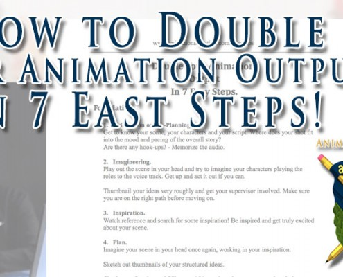How to Double Your Character Animation Output in 7 Easy Steps