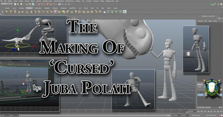 The Making of Cursed, a Juba Polati Animation Tutorial