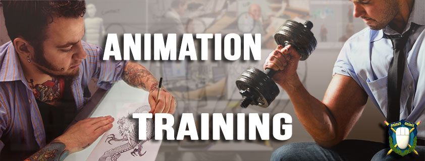 3D Character Animation Training Is Part Of The Job